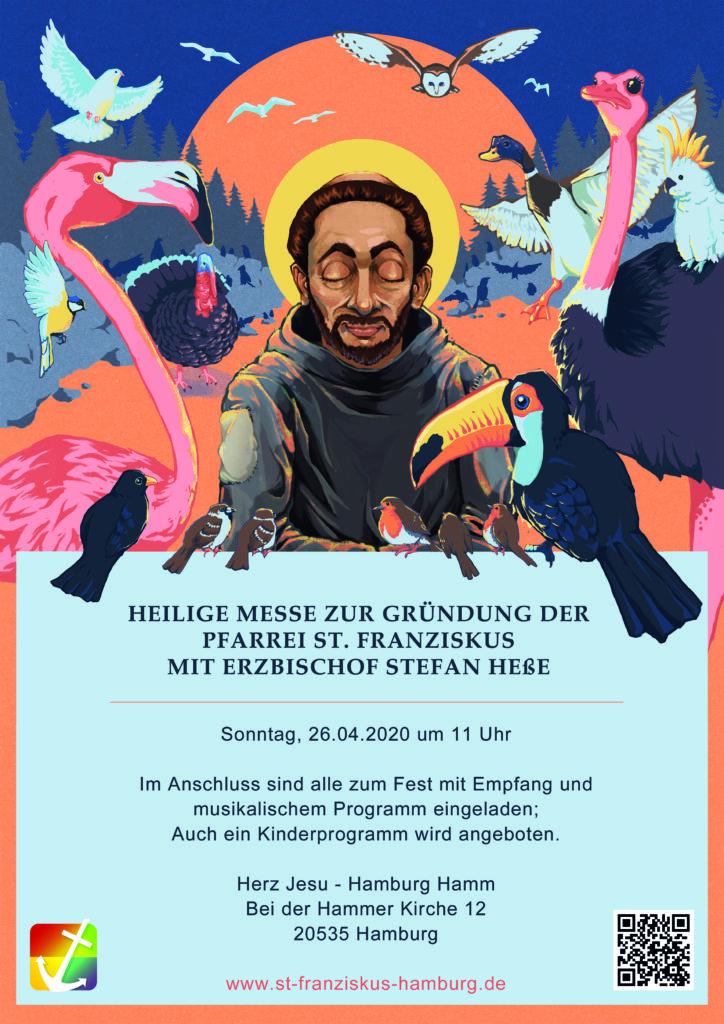 Plakat Gründungsgottesdienst 26.04.2020